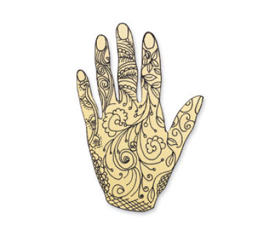 INDIA: Henna Hand
